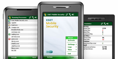 eset mobile security, protection for symbian and windows mobile device